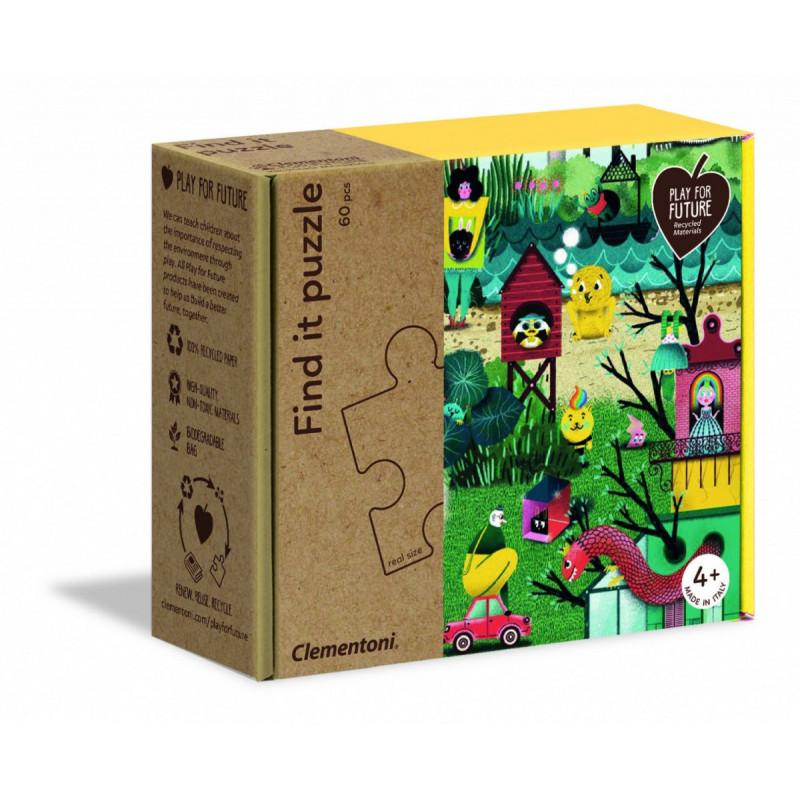 Clementoni find it puzzle autumn