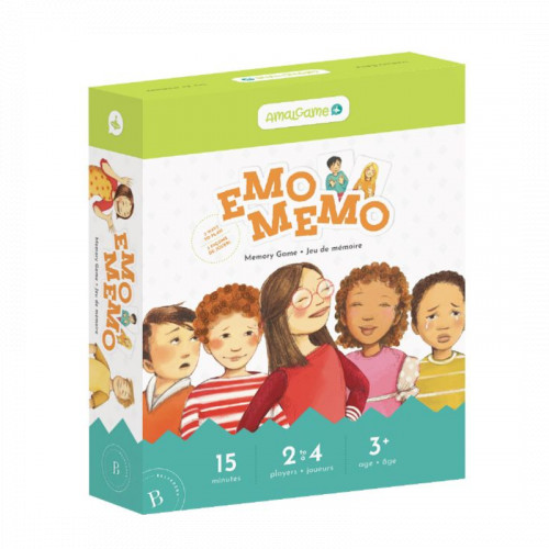 Emo Memo Emotions Game - Belvédère