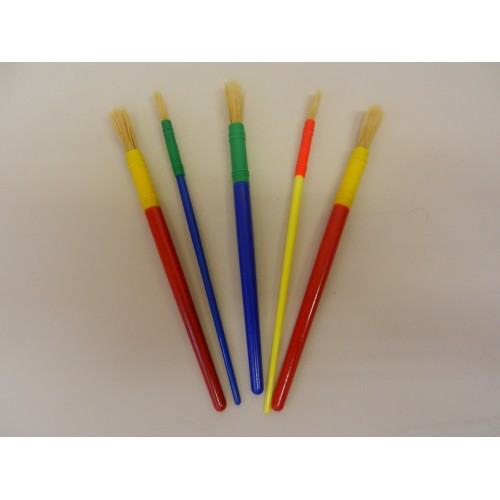 Funstuff® Round Paint Brushes Set (5)