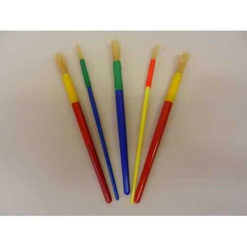 Round Paint Brushes Set (5)
