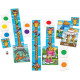 Giraffes in Scarves counting & Matching Game - Orchard Toys