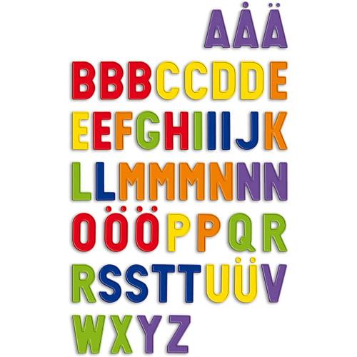 Uppercase Magnetic Alphabet Letters - Quercetti