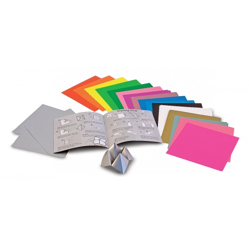 Origami Paper Vibrant Color Sheets