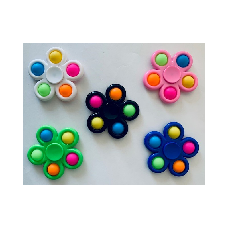 Snap Spinners Flower Fidget Design