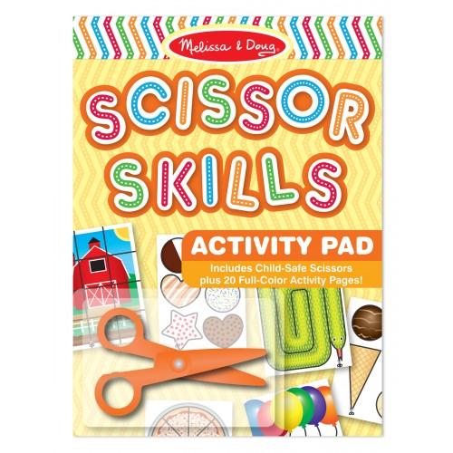 Scissor Skills Activity Pad & Scissors - Melissa & Doug