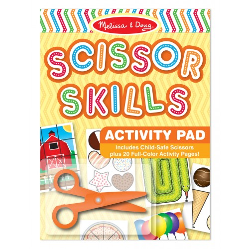 Scissor Skills Activity Pad & Scissors