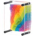 "Pin Art Rainbow- Repro Board (5""x 3.75"")"
