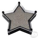"Star Shaped Pin Art- Metal (6"")"