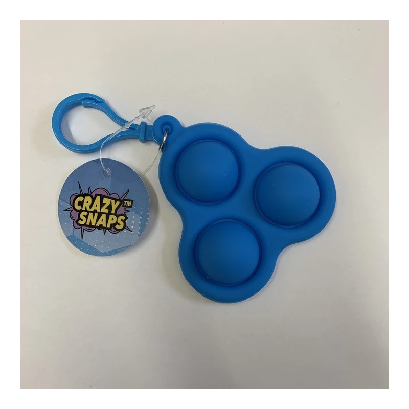 Crazy Snaps Fidget Keychain