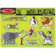 Zoo Animals Sound Puzzle (8 Pieces) - Melissa & Doug