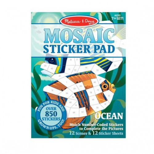Mosaic Sticker Pad (Oceans) - Melissa & Doug