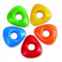 Easy-Grip  Multicolored Crayons - Hape