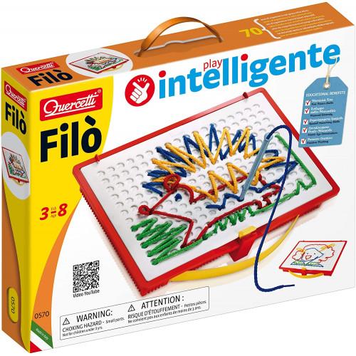 Filo Design with Laces - Quercetti