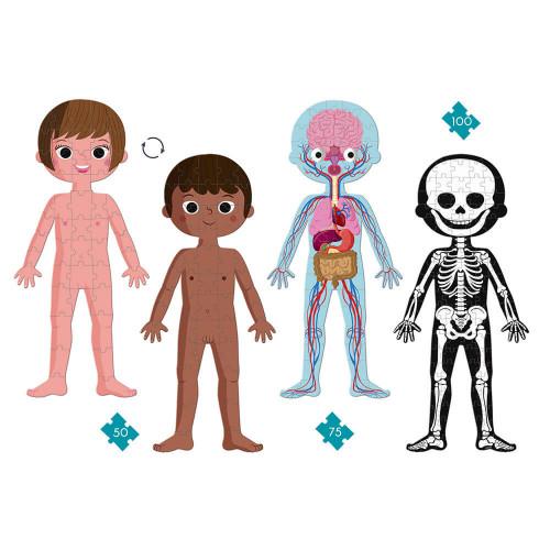 Educational Puzzle Human Body - Janod