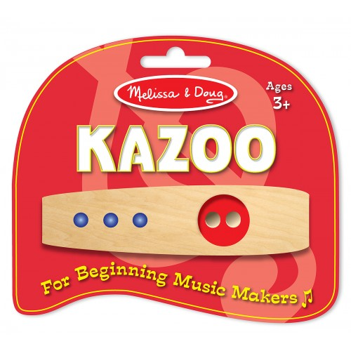 Wooden Beginner Music Makers Kazoo