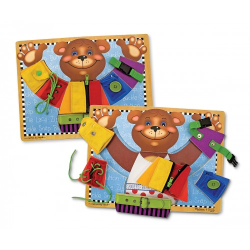 Basic Skills Board (Dressing Bear Puzzle)