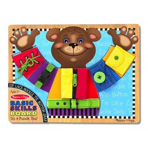 Basic Skills Board (Bear Puzzle)