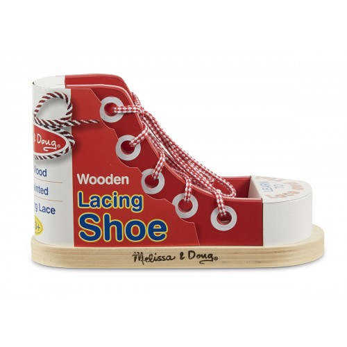 Wooden Lacing Shoe - Melissa & Doug