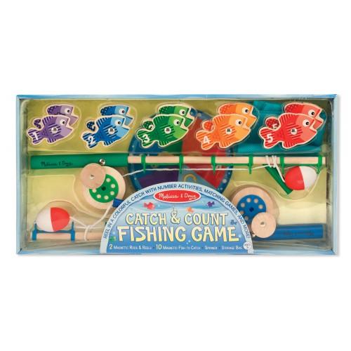 Catch & Count Magnetic Fishing Rod Set- Melissa & Doug