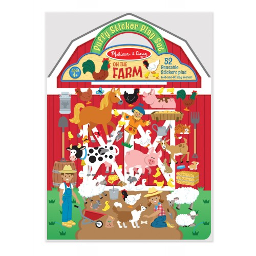 Puffy Stickers Play Set - On the Farm