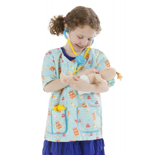 Pediatric Nurse Role Play Costume Set