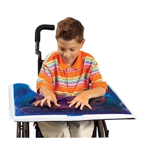 Glitter Gel Wheelchair Tray