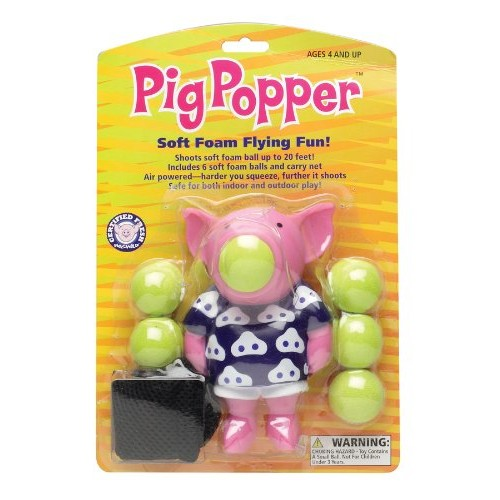 Squeeze Popper Pig (Hog Wild Animal Popper)