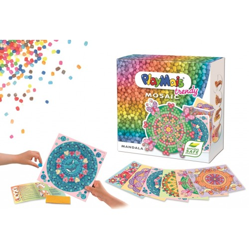 PlayMais Deluxe Mosaic Trendy Mandala