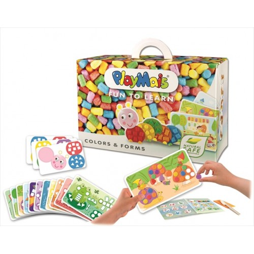 PlayMais Fun to Learn Colors & From (550 pcs)