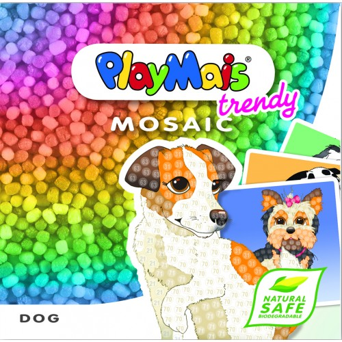 PlayMais Deluxe Mosaic Trendy Dog
