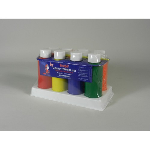 Liquid Tempera Paint Set (8)