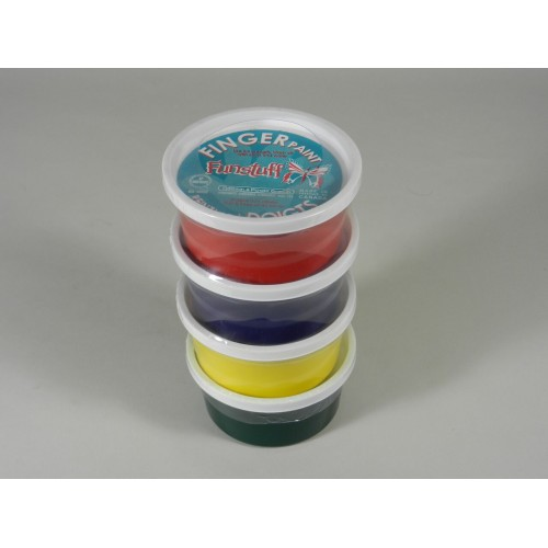 Finger Paint Set (4 colours)