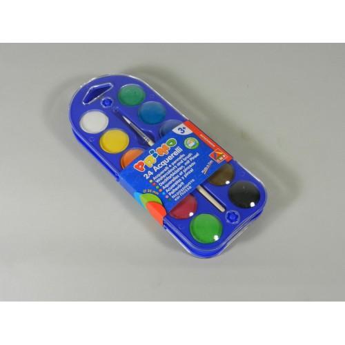 PRIMO Watercolour Tablet Paint Set (24)