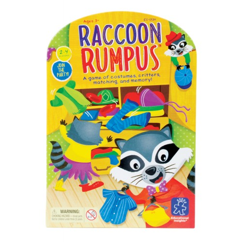 Raccoon Rumpus™ Matching & Memory Game
