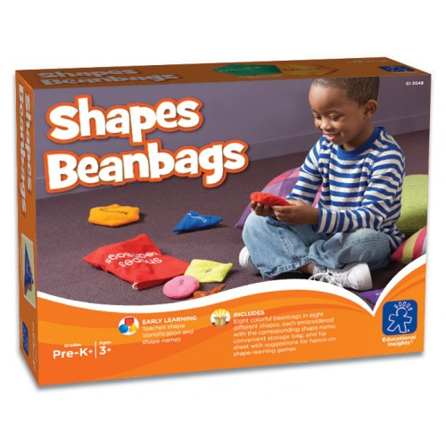 Educational Insights Washable Shapes Bean Bags