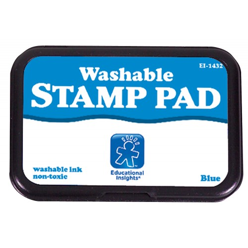 Jumbo Washable Stamp Pad (Blue, Black or Green)
