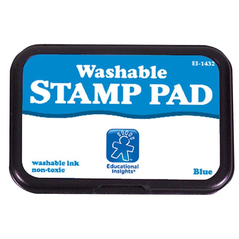 Jumbo Washable Stamp Pad (Blue or Black)