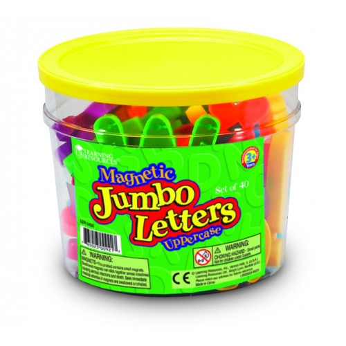 Jumbo Magnetic Letters (Upper or Lowercase)