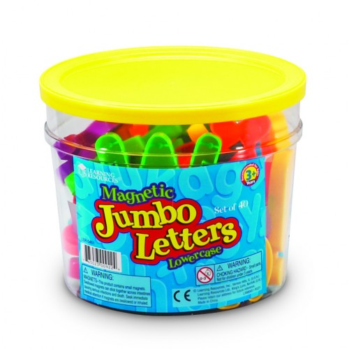 Jumbo Magnetic Letters & Numbers