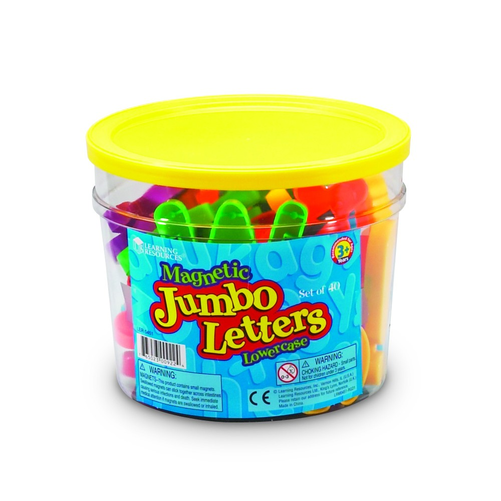 jumbo magnetic letters numbers