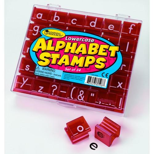 Alphabet & Punctuation Stamp Sets (Upper or Lower Case)