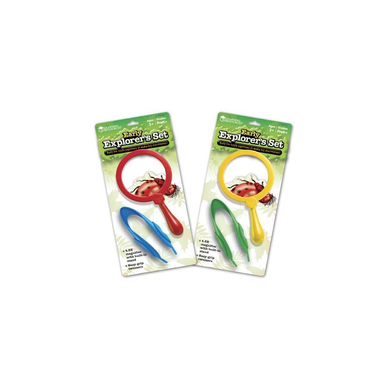 Magnifier & Tweezers