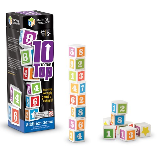 10 to the Top Addition Game