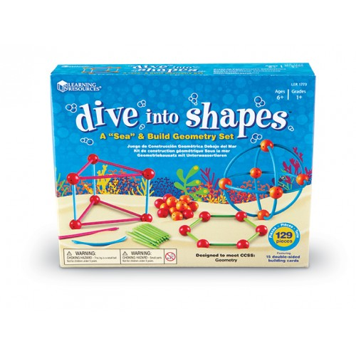 """Dive into Shapes!™ A """"Sea"""" and Build Geometry Set"""