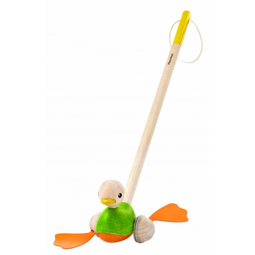 Push-Along Duck (flip-flop rubber feet)