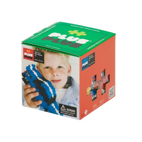 Plus Plus 3D Large 3D-Puzzle Set (600 pcs)