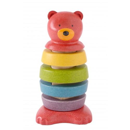 Plan Toys Preschool Stacking Bear