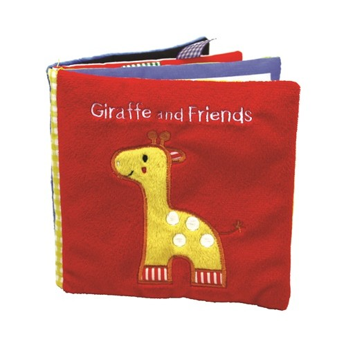 Giraffe and Friends (Baby Soft Book)