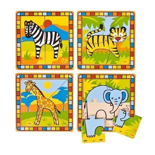 My First Safari Insert Puzzle